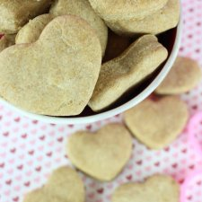 """Love my Puppy"" Peanut Butter Dog Treats"