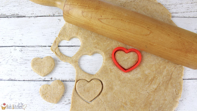 How to make homemade dog biscuits shaped like hearts
