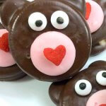 Valentine's Teddy Bear Oreos