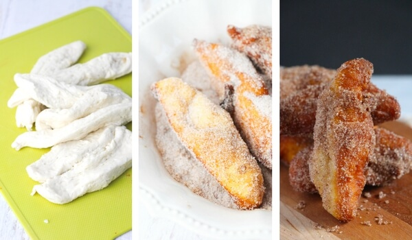 Step by step how to make churros at home