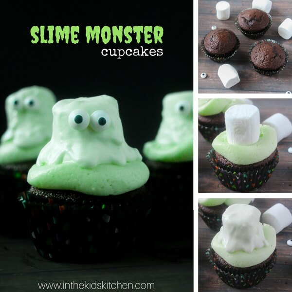 How to make slime cupcakes