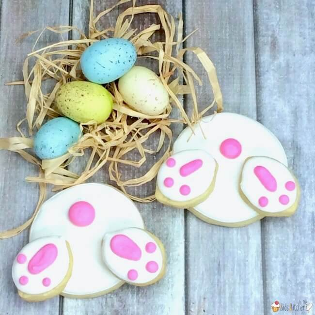 Easter Bunny Bum Cookies