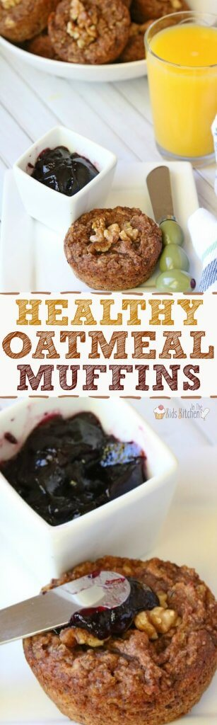 Better for you than a bowl of oatmeal, these Healthy Oatmeal Muffins are a nutrition-dense breakfast that's perfect to make ahead for busy mornings!
