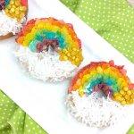 Rainbow Air Fryer Donuts (5 Minute Shortcut Recipe)
