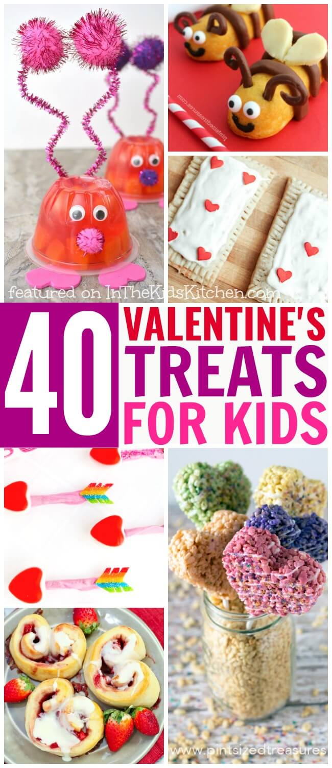 40 Valentine S Day Treats Just For Kids In The Kids Kitchen