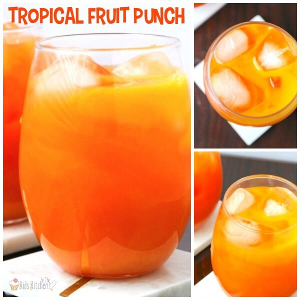 Kids Fruit Punch Collage