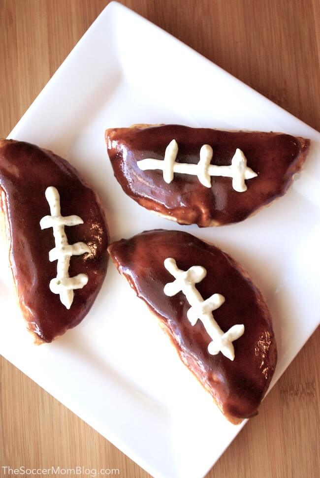 Football pitas - Father's Day dinner ideas