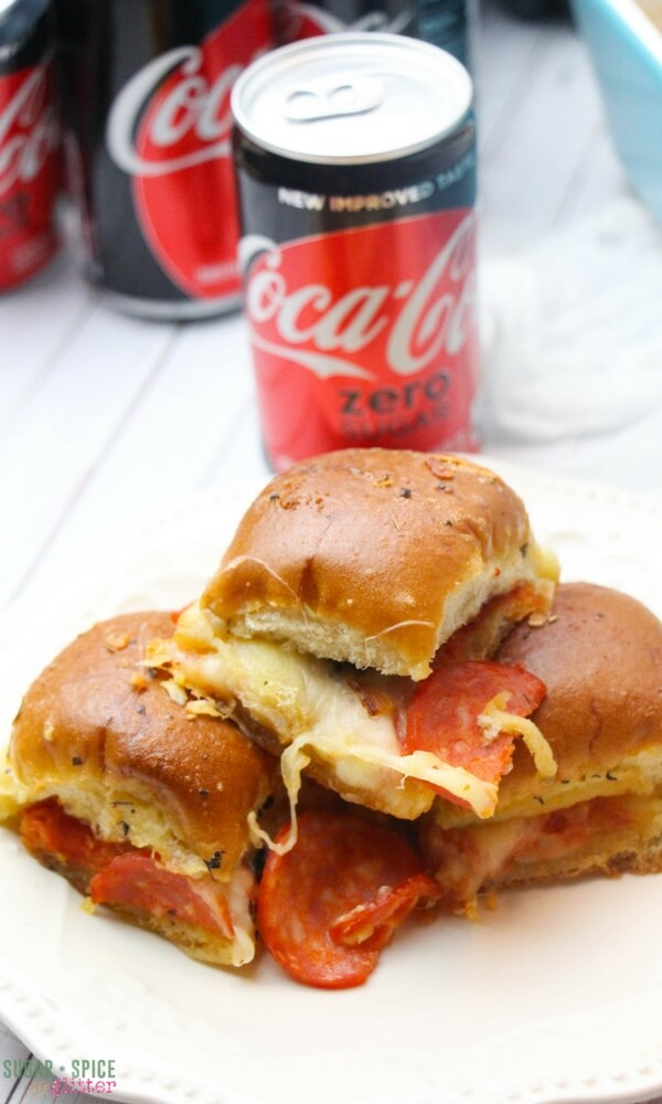 pizza sliders - Father's Day dinner ideas