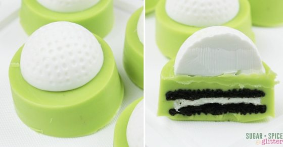golf OREOS - Father's Day food ideas for kids