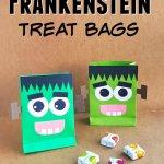 Friendly Frankenstein DIY Halloween Treat Bags