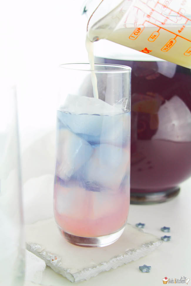 Color-changing galactic lemonade recipe