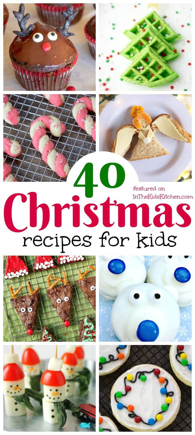 Perfect for parties or celebrating as a family, you'll find so many goodies in this collection of Christmas Recipes for Kids!