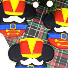 Mickey Mouse Nutcracker Christmas Cookies