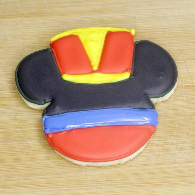 Mickey Nutcracker Cookies