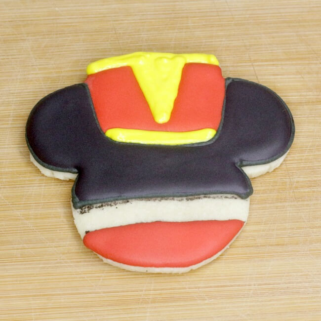 How to make Mickey Mouse nutcracker cookies
