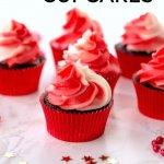 Chocolate Peppermint Bark Cupcakes