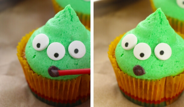 Toy Story alien cupcakes recipe