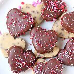 Chocolate Chip Cookie Dough Hearts (w/ Video)