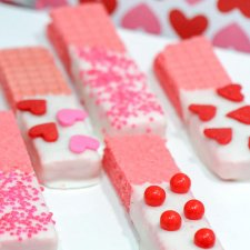 No-Bake Valentine's Day Wafer Cookies
