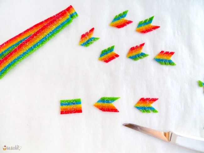 How to make Cupid's Arrows for Valentine's Day