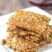 Healthy Seed Crackers – Superfood Snack!