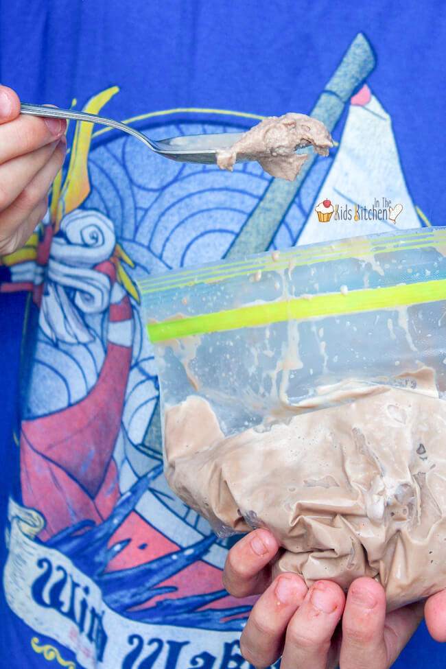 Learn how to make real homemade ice cream in a bag — a fun summer activity (and treat) for kids!
