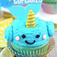 Narwal Cupcakes