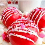 Valentine's Day Hot Chocolate Bombs (with Video)